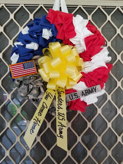 Great addition to wreath