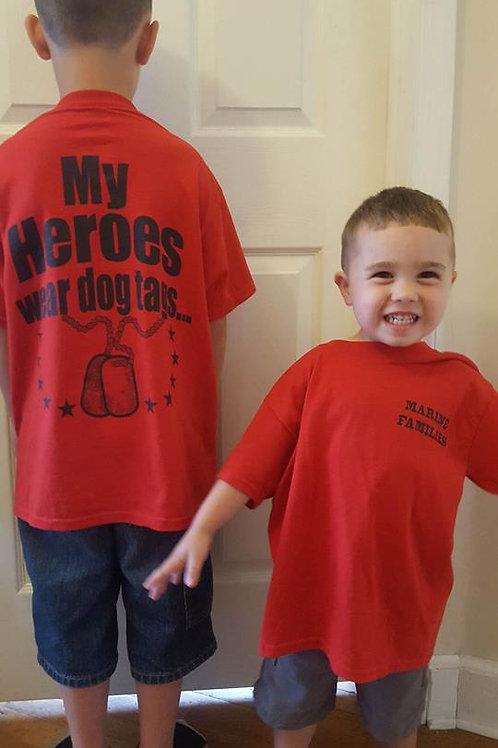 Kids Marine Families TShirt