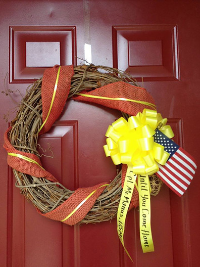 Added on a wreath
