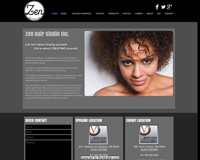 Zen Hair Studios Inc.