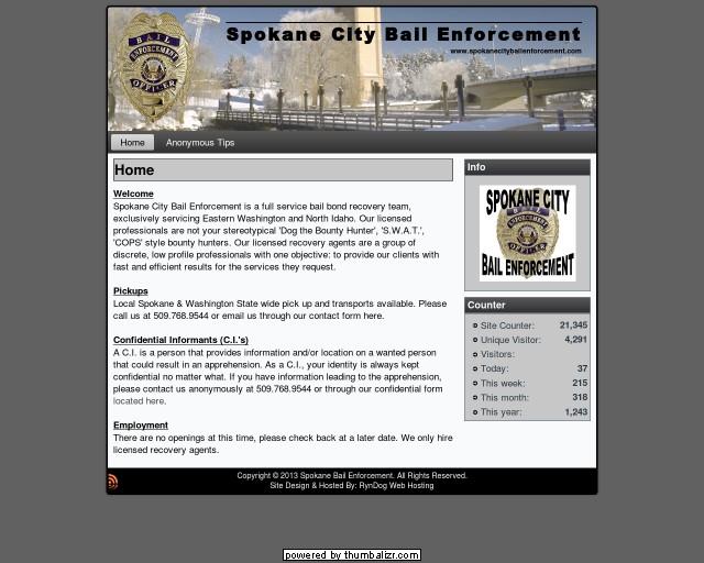 Spokane City Bail