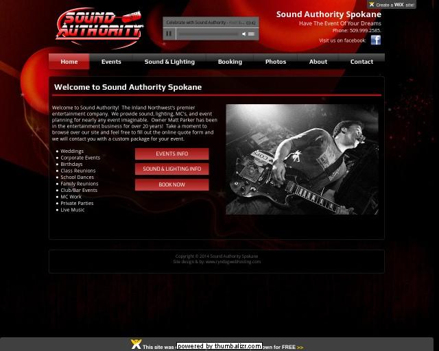 Sound Authority Ent.