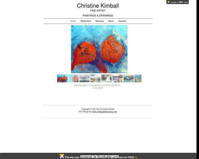 Christine Kimball Artist