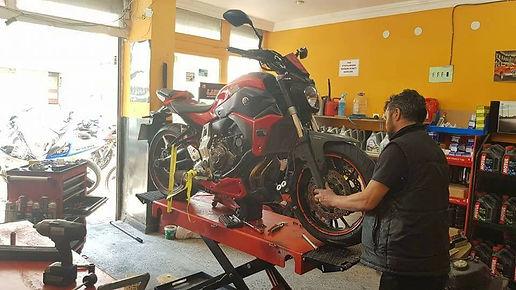 Motosiklet Tamiri Bakımı