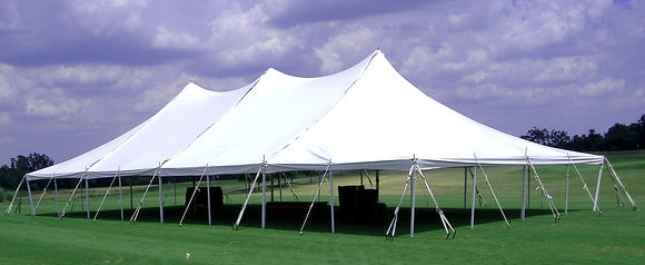 40 x 80 White Pole Tent