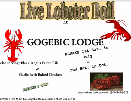 Come join the folks at the Lodge!!!