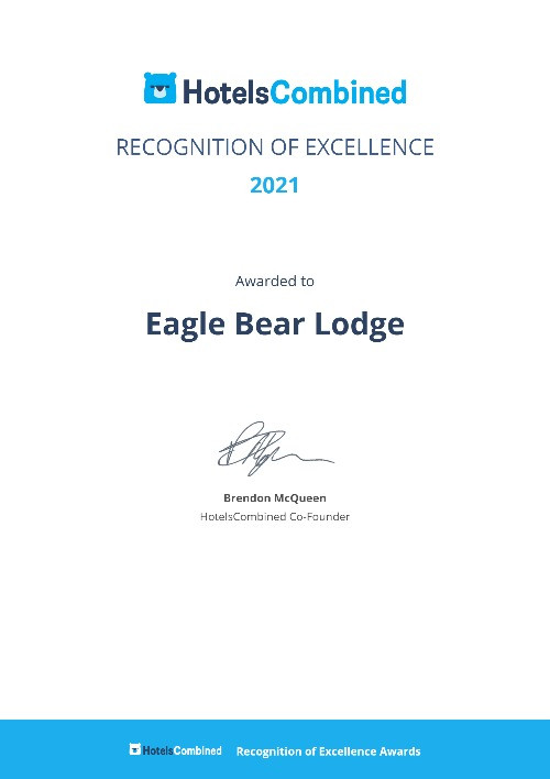 """""""One of the best hotels/lodges in Canada"""" HotelsCombined"""