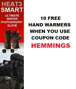 10 Free Warmers- Heat3Gloves