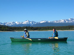 Canoeing Eagle Lake