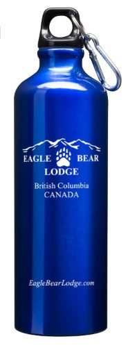 Reuseable Water Bottle with Activities@Eagle Bear Lodge