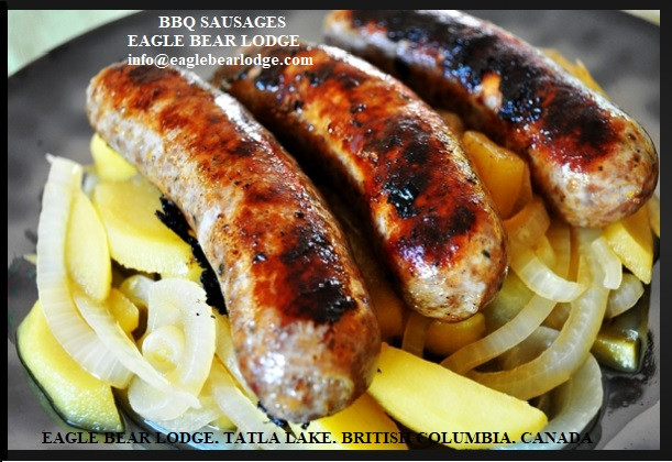 BBQ Sausages Eagle Bear Lodge