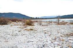 White sand beach on Eagle Lake