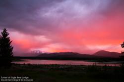 Sunset Landscape at Eagle Bear Lodge