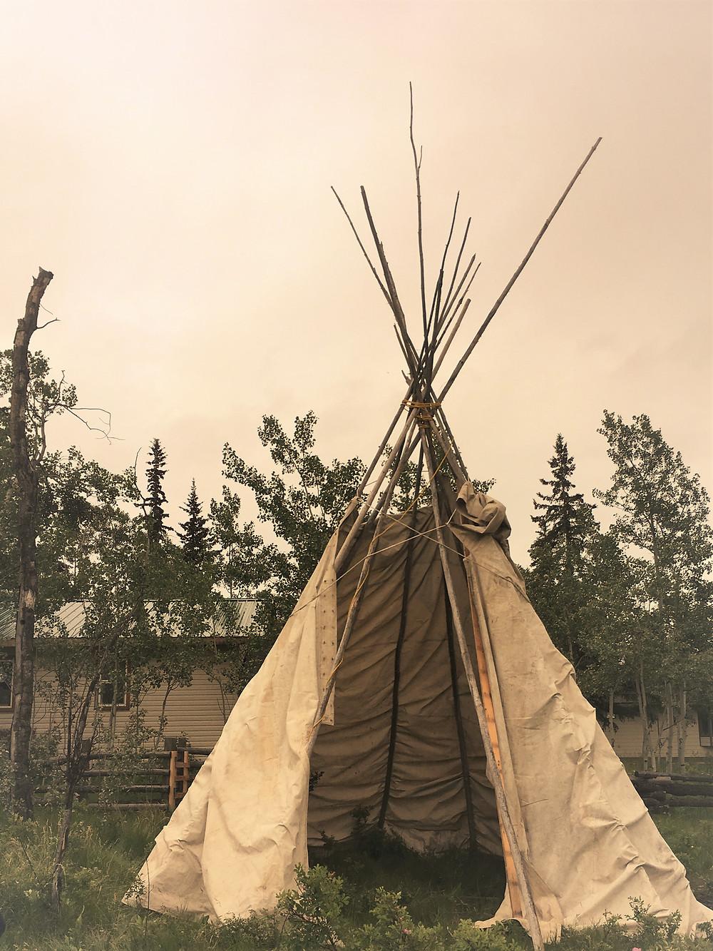 Eagle Bear Lodge Teepee Cabin