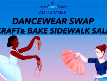 June 10th - Dancewear Swap + Craft & Bake Sidewalk Sale! Yay!