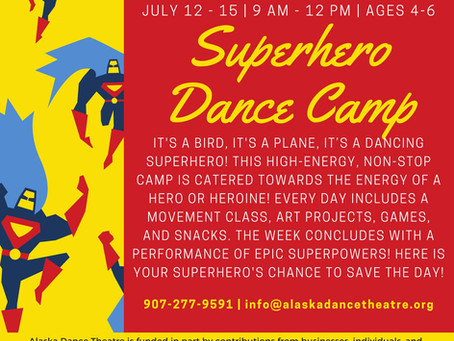 Scholarships & Summer Camps! Superheroes to the Rescue!