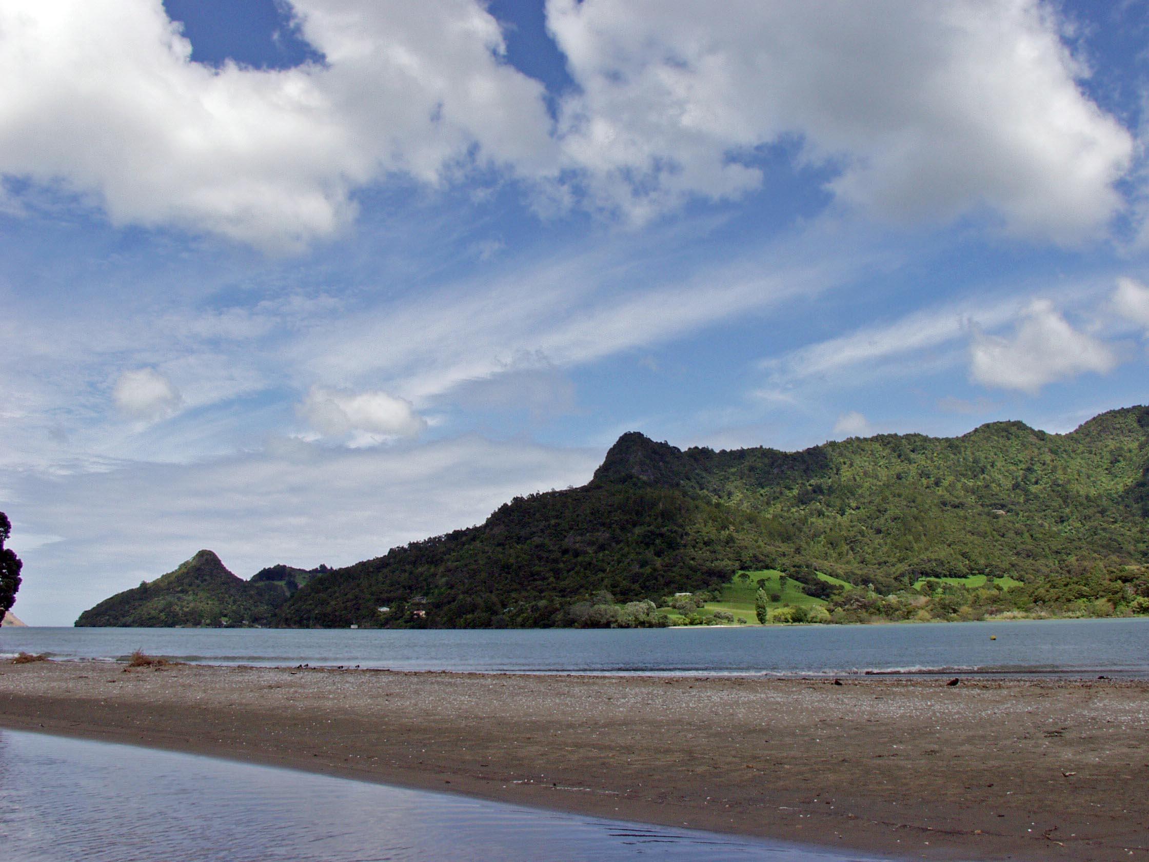 Huia beach
