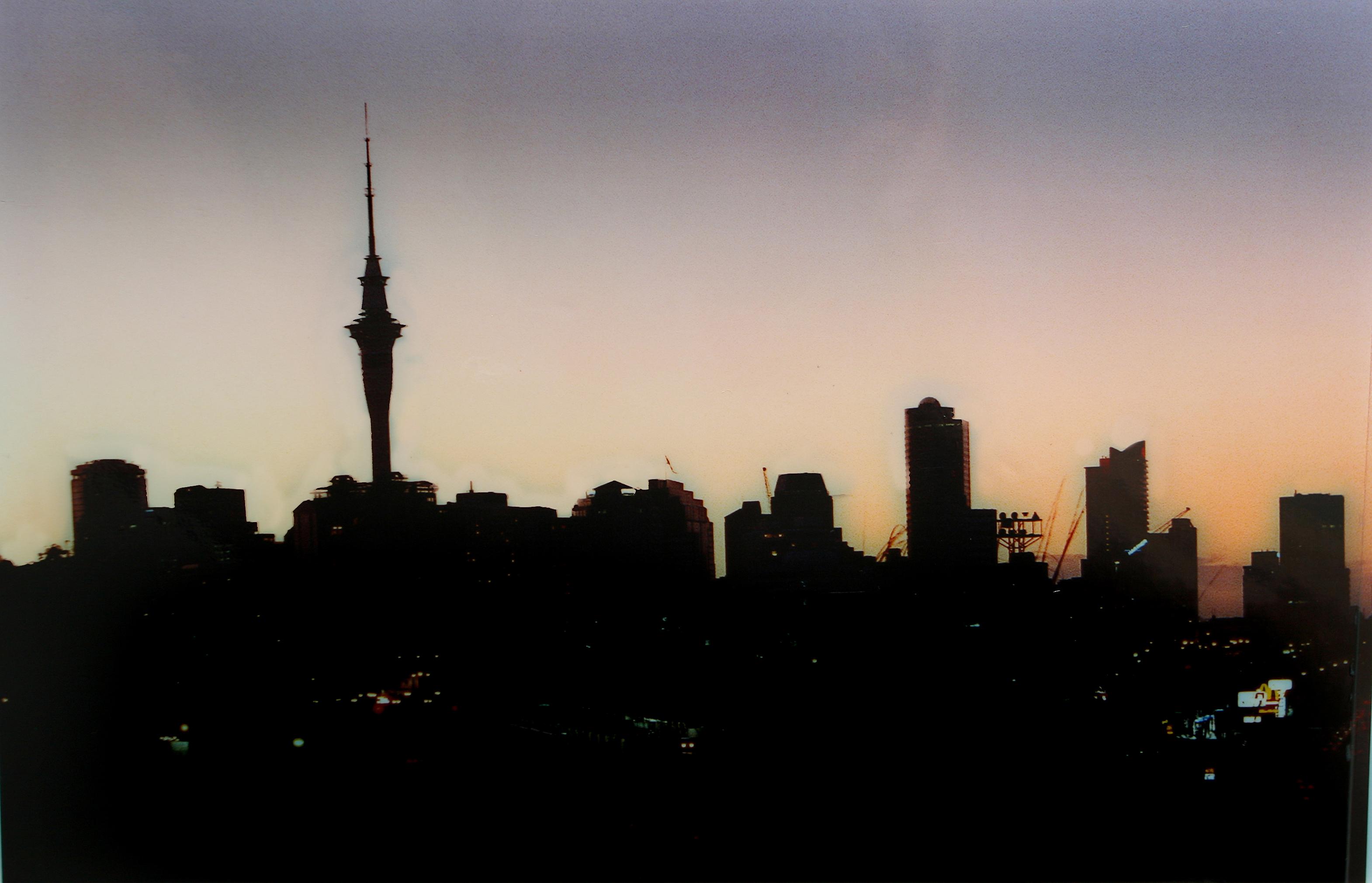 Auckland skyline powercut