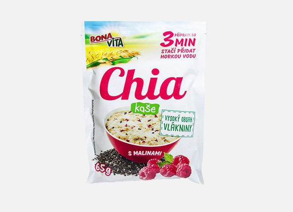 Bonavita Chia kaša ovsená s malinami 65g