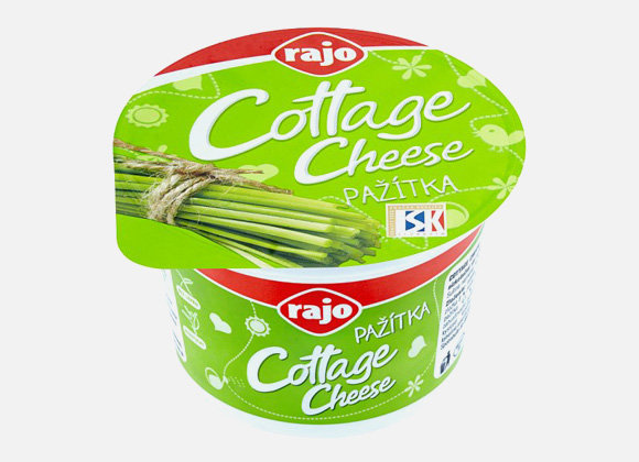 Rajo Cottage Cheese pažítka 180g