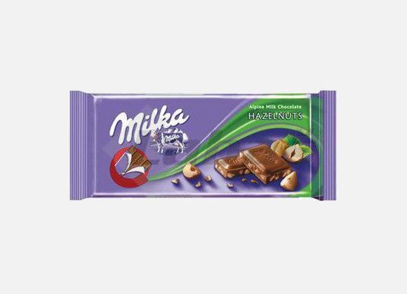 Cokolada Milka orieskova 100g
