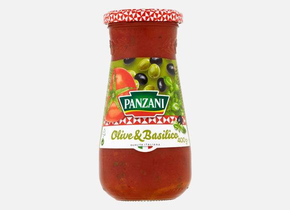 Omacka olive&basilico Panzani 400g