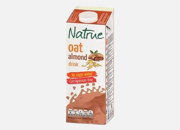 Natrue Mandľovo-ovsený nápoj bez cukru 1l