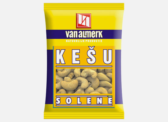 Kešu solené Van Almerk 60g