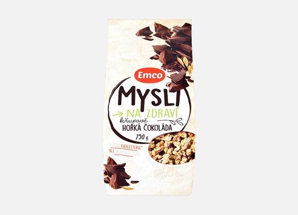 Emco Mysli horká čokoláda 750g