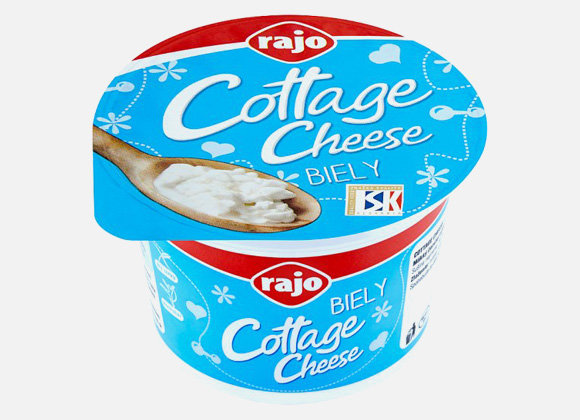 Rajo Cottage Cheese biely 180g