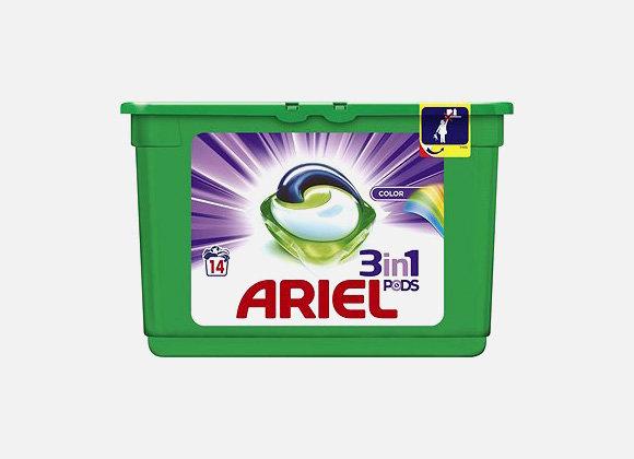 Ariel 3in1 gélové tablety 14ks