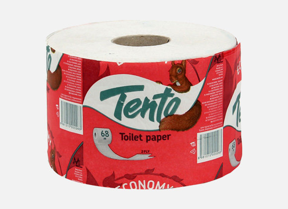 Tento economy toaletný papier 2vrst. 68m