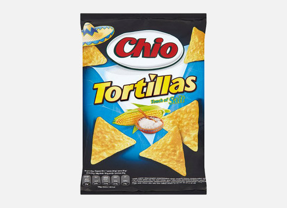 Tortillas Chio slane 125 g