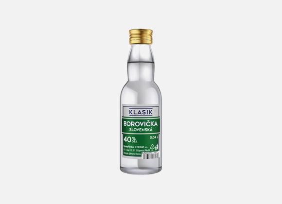 Borovicka St.Nico.Klasik Slov.40% 0.04l