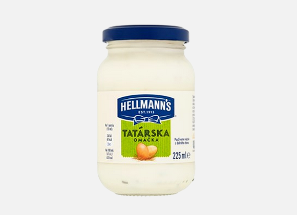 Hellmanns Tatarska omacka 225 ml