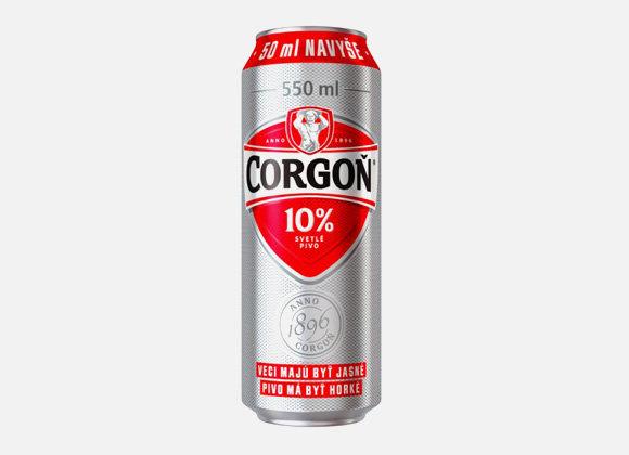 Pivo Corgoň 10° 500ml