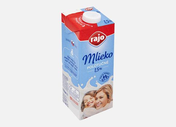 Mlieko Rajo 1,5%, 1l