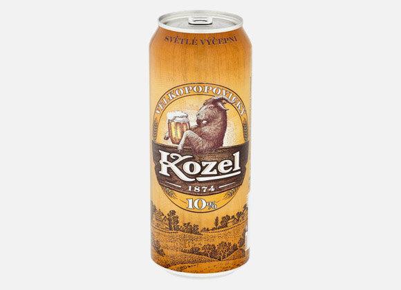 Pivo svetle 10° Veľkopopovický Kozel 500ml