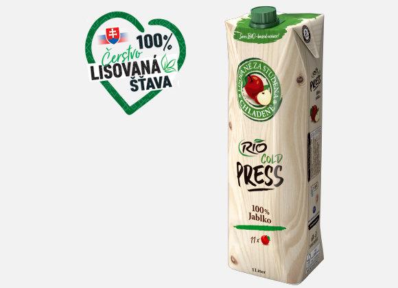 Šťava jablková Rio Fresh 100% 1l
