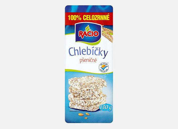 Chlebíčky pšeničné Racio, 130g