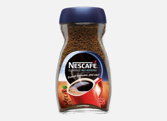 Káva bez kofeínu Nescaffé classic 100g