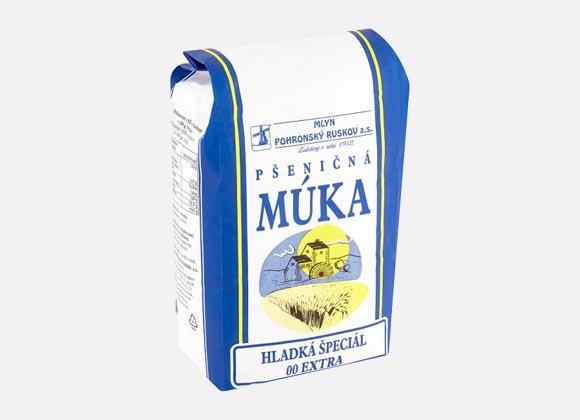 Múka hladká špeciál 00 extra Ruskov, 1kg
