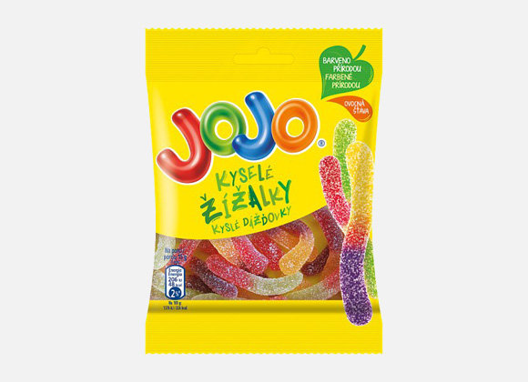 Cukriky dazdovky kysle Jojo 80g