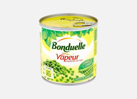 Hrášok jemný Bonduelle 212ml