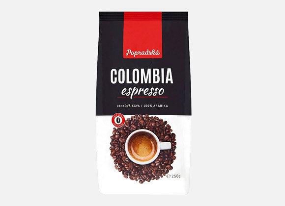 Káva zrnková BOP Columbia 250g