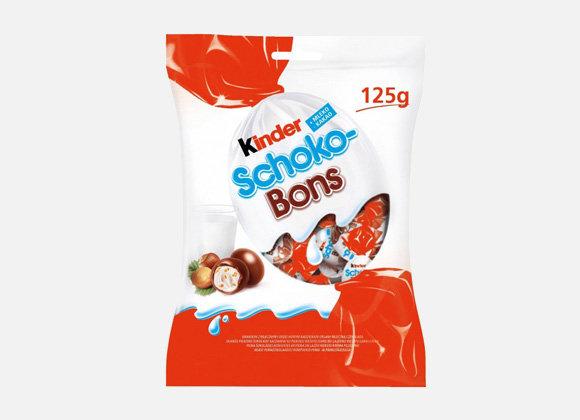 Bonbony coko. Kinder Schoko/bons, 125g