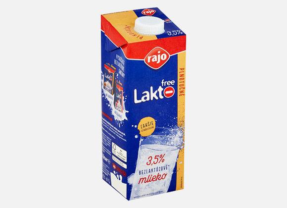 Mlieko lakto free Rajo 3,5% 1l