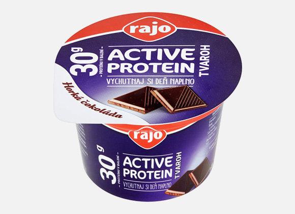 Rajo Active Protein tvaroh horká čokoladá 200g