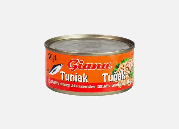 Tuniak v rastilnnom oleji Giana 185g