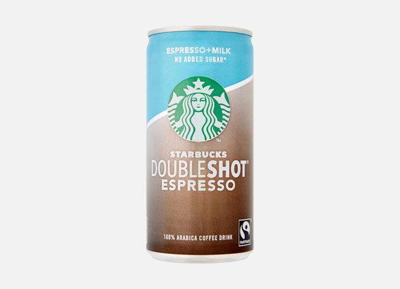 Starbucks No added Sugar Doubleshot Espresso 200ml